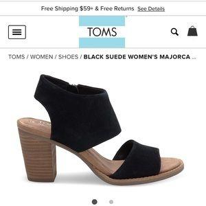 Toms Shoes - Toms Majorca Suede Sandals
